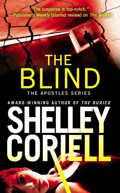 The Blind Cover (The Apostles Book #3 Cover)